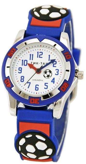 ТИК-ТАК н102-2 сине-красный футбол